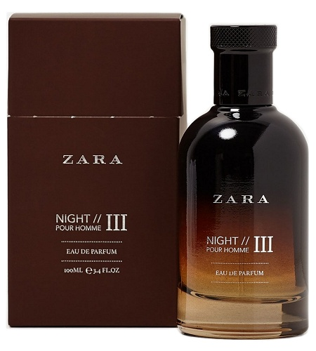 Night Pour Homme III cologne for Men by Zara