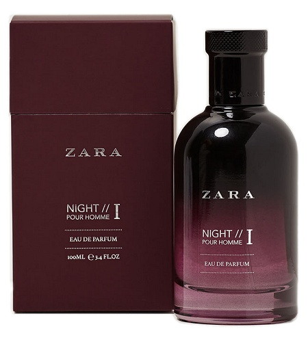 Night Pour Homme I cologne for Men by Zara