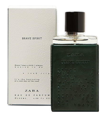 Brave Spirit cologne for Men by Zara