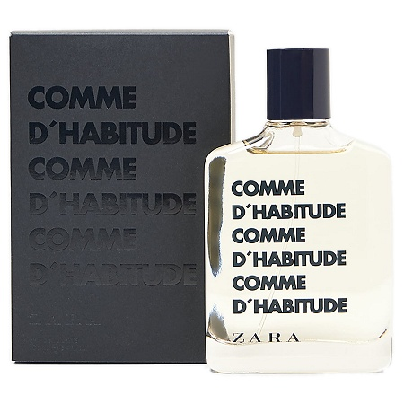Comme d'Habitude cologne for Men by Zara