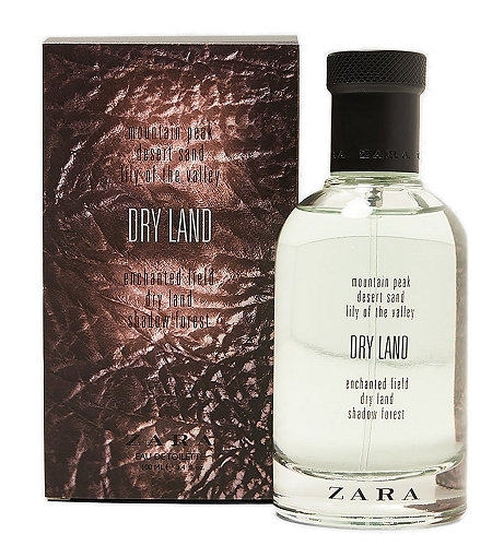 Dry Land cologne for Men by Zara