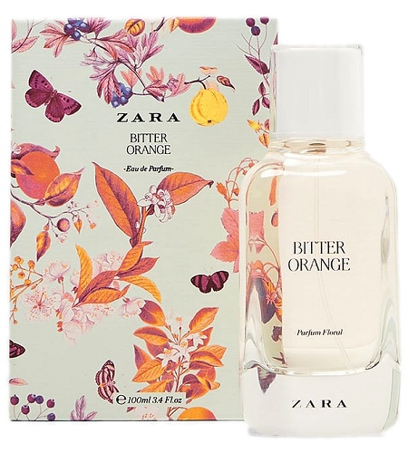 Floral Collection Bitter Orange perfume for Women by Zara