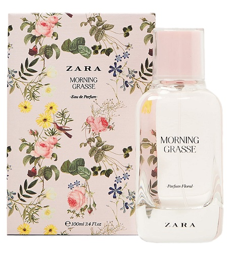 Floral Collection Morning Grasse perfume for Women by Zara