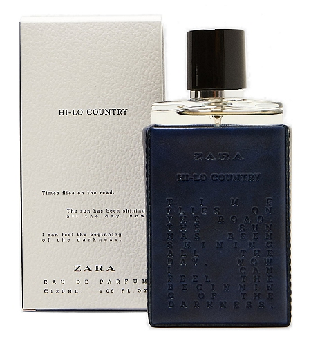 Hi-Lo Country cologne for Men by Zara