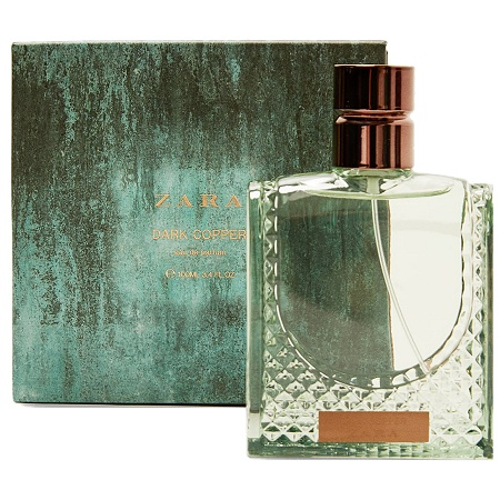 Rusty Metal Collection Dark Copper cologne for Men by Zara