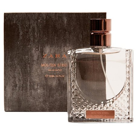 Rusty Metal Collection Molten Steel cologne for Men by Zara
