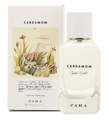 The Naturals Cardamom Unisex fragrance by Zara