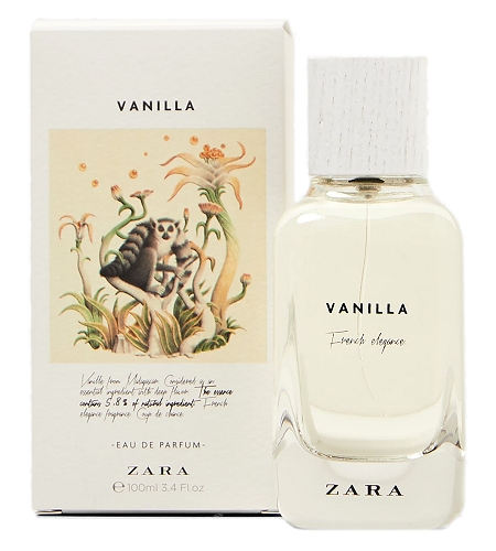 The Naturals Vanilla perfume for Women by Zara