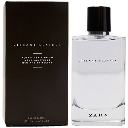Vibrant Leather EDP cologne for Men by Zara
