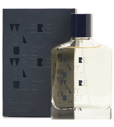 Where Is My Juliet cologne for Men by Zara