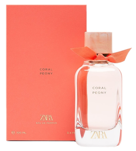 Floral Collection Coral Peony perfume for Women by Zara