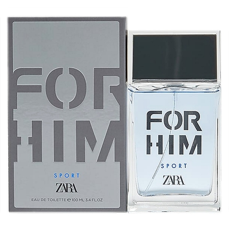 For Him Sport cologne for Men by Zara