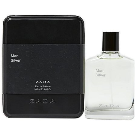 Man Silver 2019 cologne for Men by Zara