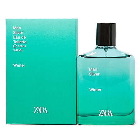 Man Silver Winter cologne for Men by Zara