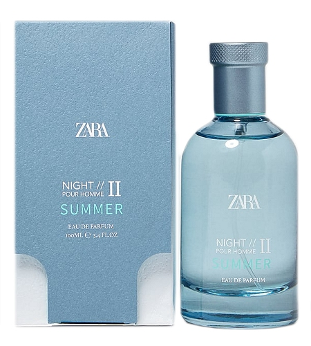 Night Pour Homme II Summer cologne for Men by Zara