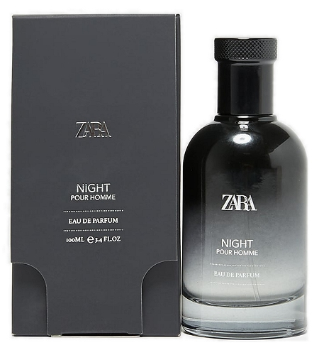 Night Pour Homme cologne for Men by Zara