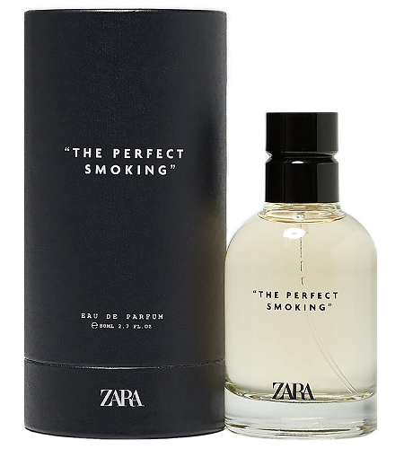 The Perfect Smoking cologne for Men by Zara