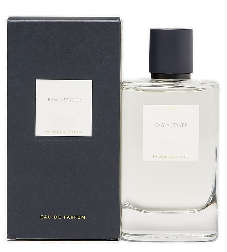 Woods Collection Raw Vetiver cologne for Men by Zara