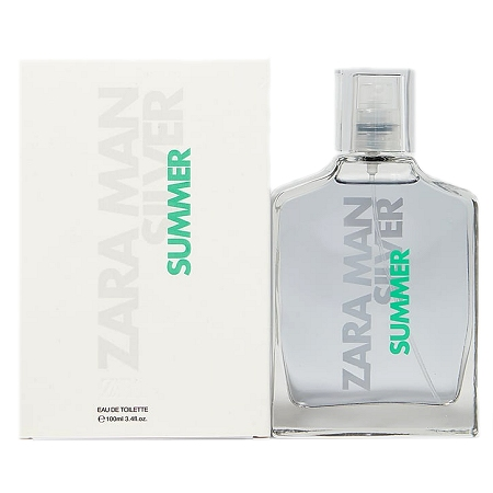 Zara Man Silver Summer cologne for Men by Zara