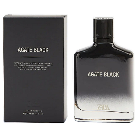 Agate Black cologne for Men by Zara