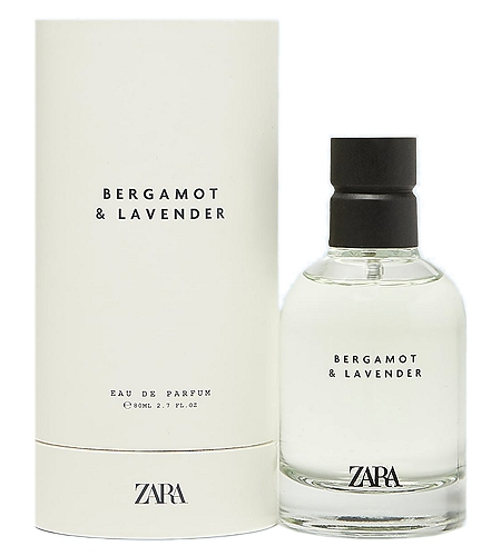 Bergamot & Lavender cologne for Men by Zara