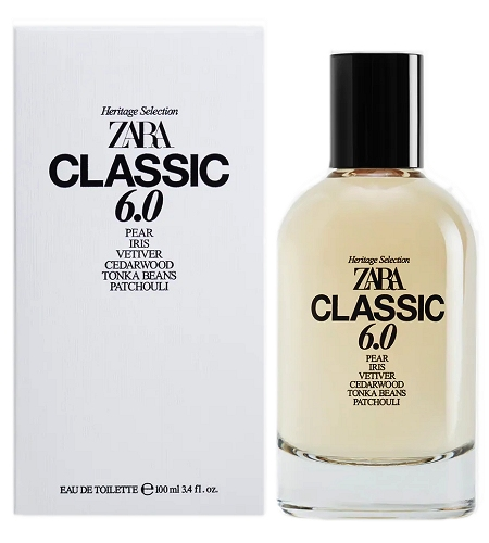 Heritage Selection Classics 6.0 cologne for Men by Zara