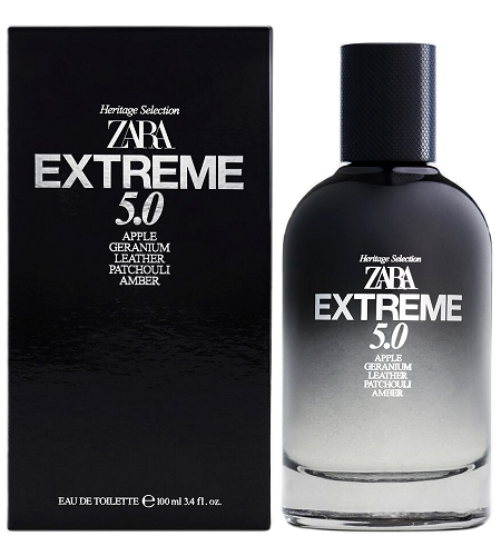 Heritage Selection Extreme 5.0 cologne for Men by Zara