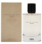 Vibrant Leather Warm cologne for Men by Zara