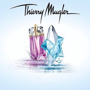Angel and Alien Aqua Chic Versions by Thierry Mugler