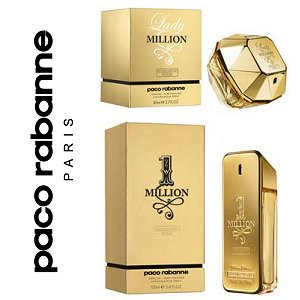 Paco Rabanne 1 Million And Lady Million Absolutely Gold Perfume News