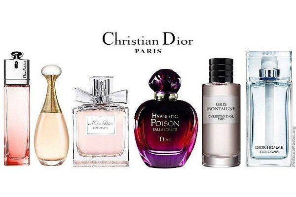 Christian Dior Perfume Collection 2013
