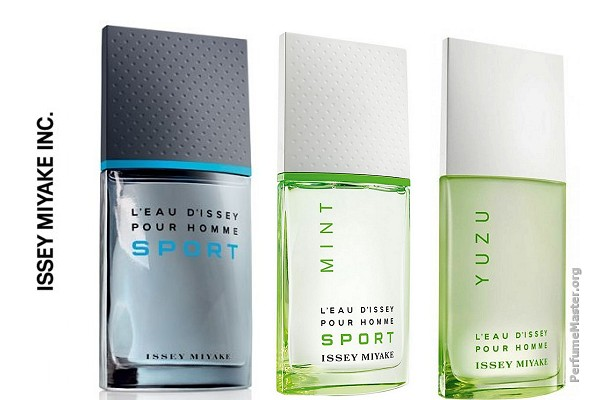 Issey Miyake L'Eau D'Issey Pour Homme Sport Mint Fragrance