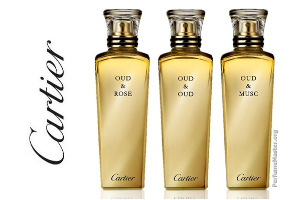 Cartier Les Heures Voyageuses Oud Fragrance Collection 2014