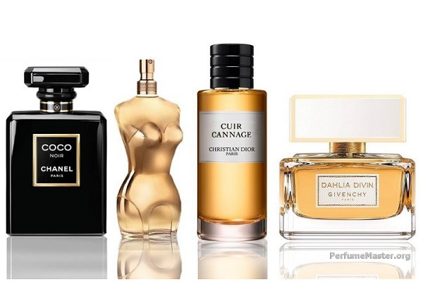 Inspiring Fall-Winter Perfumes October 2014