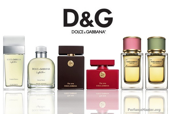 Dolce and Gabbana Perfume Collection 2014