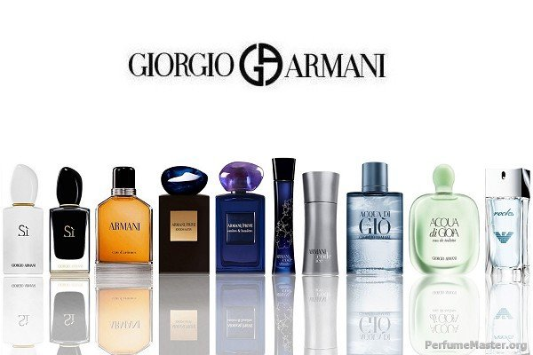 Giorgio Armani Perfume Collection 2014