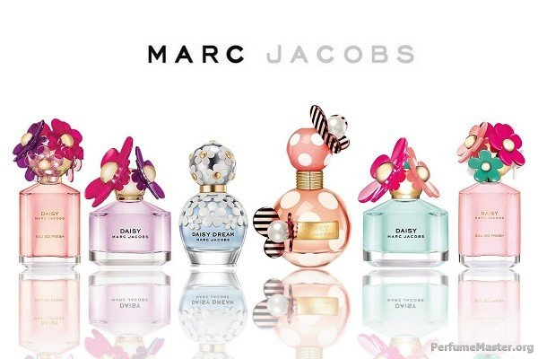 Marc Jacobs Perfume Collection 2014