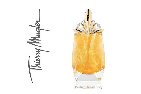 latest fragrance news thierry mugler alien eau extraordinaire pailletee or perfume. Black Bedroom Furniture Sets. Home Design Ideas