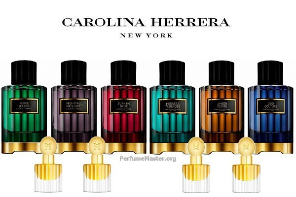 Carolina Herrera Confidential Fragrance Collection