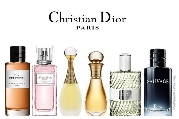 Christian Dior Perfume Collection 2015