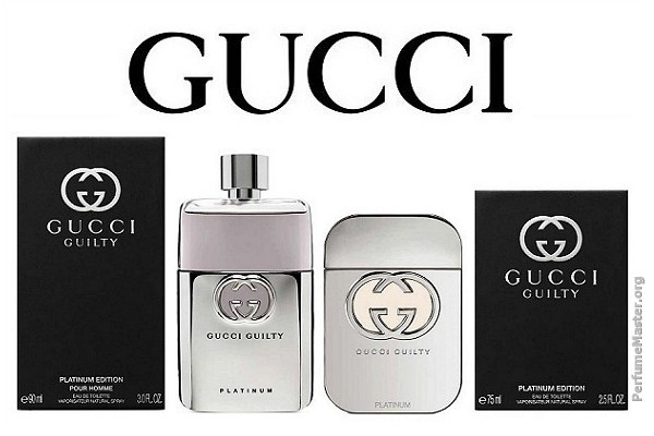 Gucci Guilty Platinum Edition Fragrance Collection