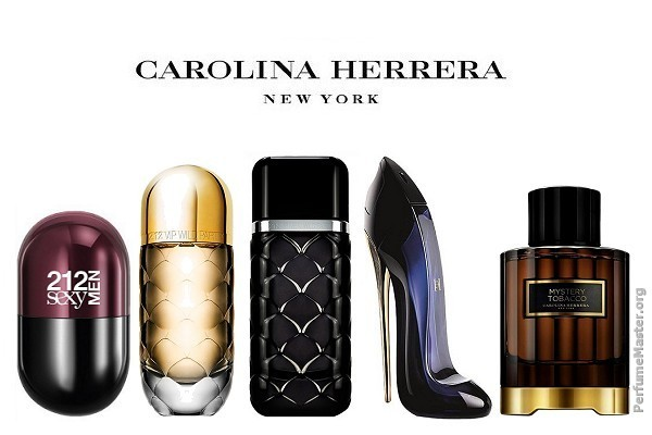 Carolina Herrera Perfume Collection 2016