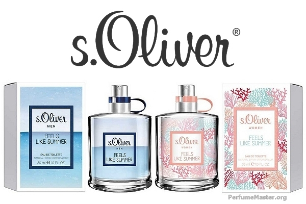 s.Oliver Feels Like Summer 2017 Perfume Collection