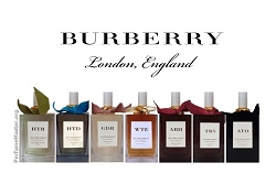 Burberry Bespoke Perfume Collection