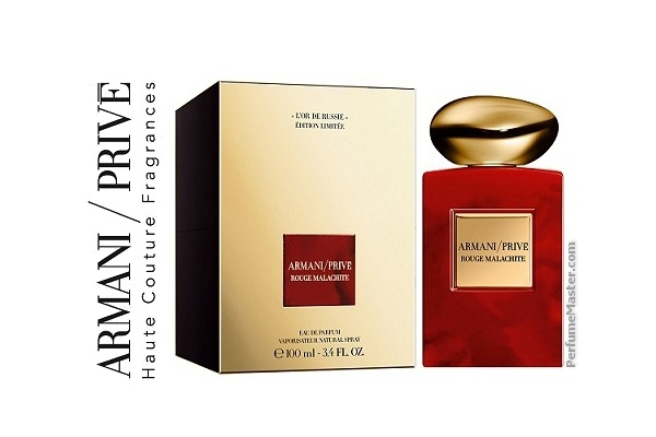 Giorgio Armani Prive Rouge Malachite L'Or De Russie Fragrance