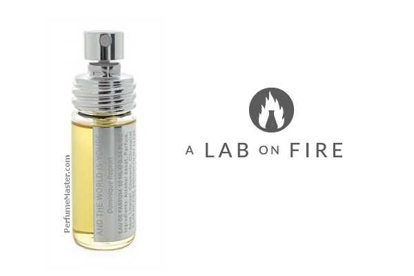 A Lab on Fire And The World Is Yours New Perfume