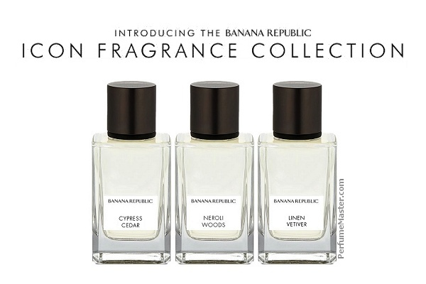 Banana Republic Icon Collection New Perfumes 2018
