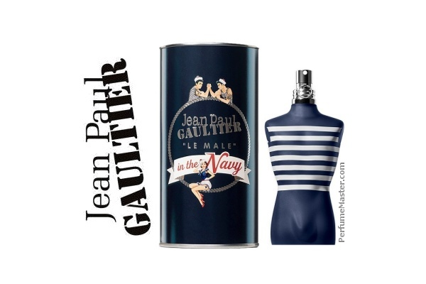 Jean Paul Gaultier Le Male In The Navy New Fragrance