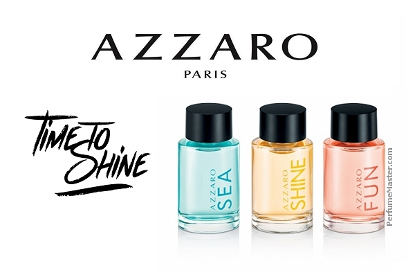 Azzaro Time To Shine Collection