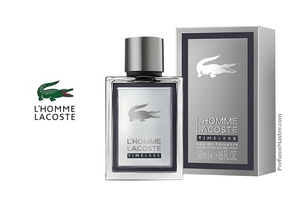 Lacoste L'Homme Timeless New Fragrance